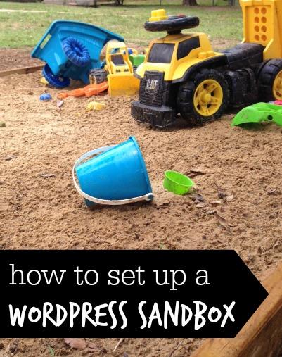 The Moos News Blog Archive How To Set Up A Wordpress Sandbox
